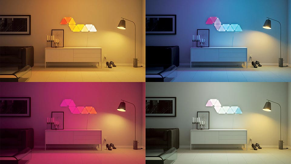 Lampu Dekor Architectural Light Nanoleaf Aurora