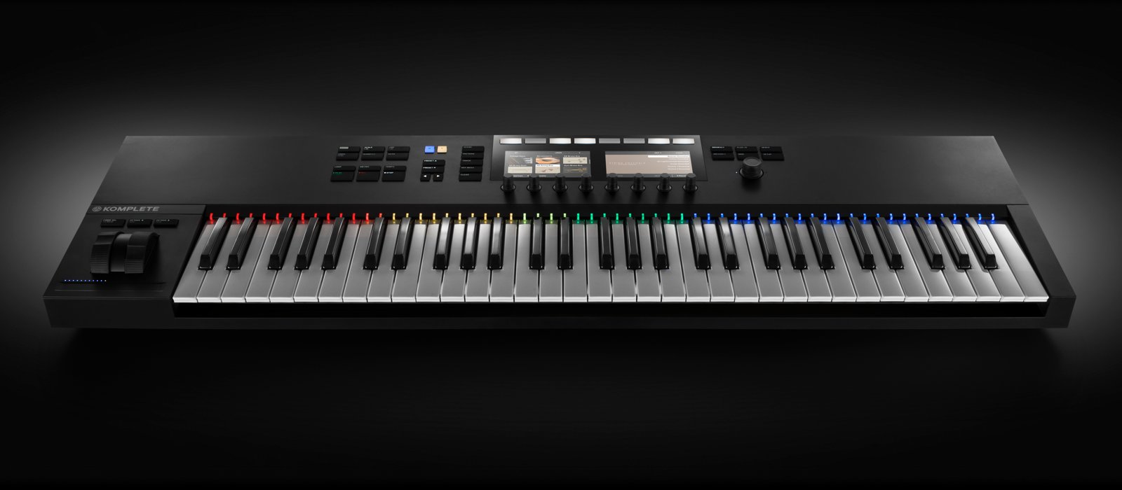 music production keyboard controller ni komplete kontrol s49 s61 mk2. Black Bedroom Furniture Sets. Home Design Ideas