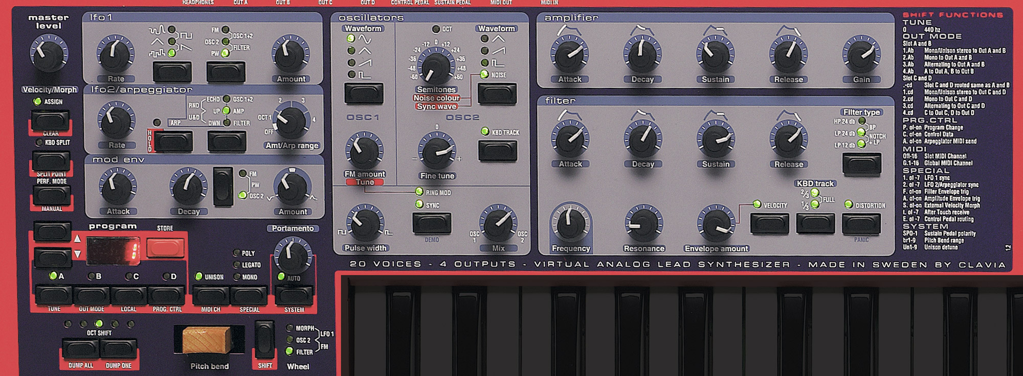 Alat Musik Virtual Analog Synthesizer Nord Lead 2x 1 Set Band And A Midi Controller In One Every Production Studio Needs Synth What Can Be More Reliable Than Dedicated Hardware That Allows Realtime