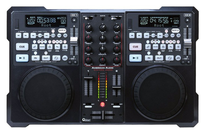 alat dj all in one dj controller player mixer. Black Bedroom Furniture Sets. Home Design Ideas