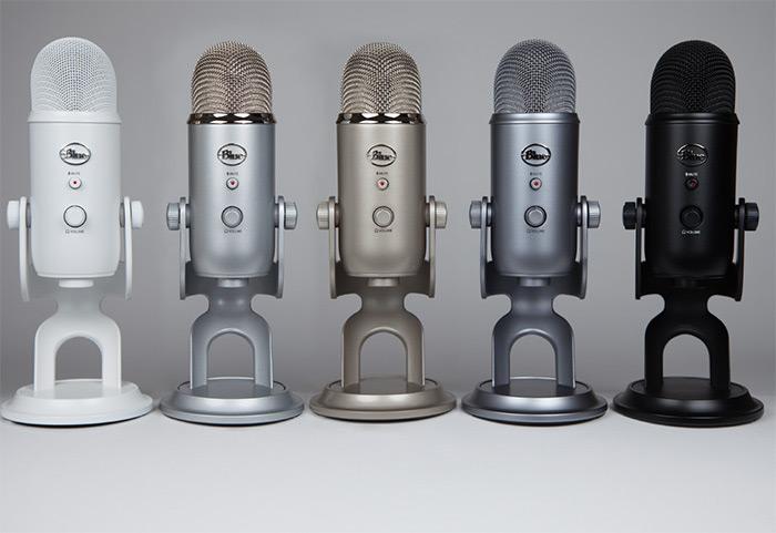 Alat Recording   USB Condenser Microphone   Blue Yeti