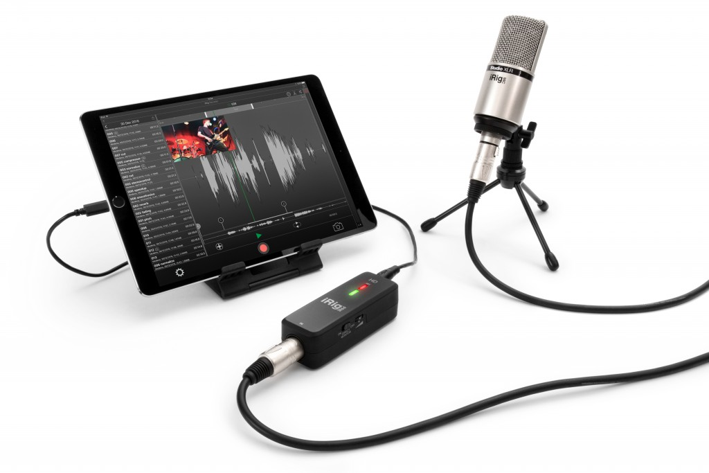 Microphone Preamp and Audio Interface for iOS and PC | iRig Pre HD